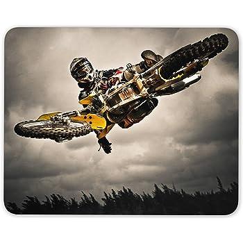 Motocross Mouse Pad Mat Motorbike Biker Son Kids Fun Gift Computer PC Gift #8087