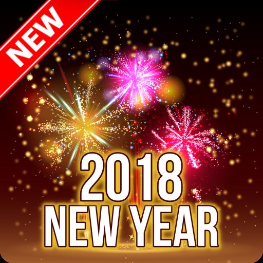 Glückliches neues Jahr wünscht Nachrichten 2018: Amazon.de: Apps für ...