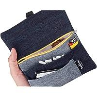 Borsello Portatabacco Jeans - Astuccio Porta tabacco Black Denim