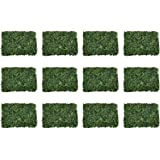 YATAI 12 Pcs Wall Grass Artificial Plants Eucalyptus Leaves/Flowers Wholesale Artificial Turf Wall Grass For Home Villa Garde