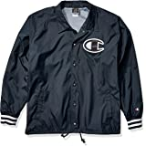 Champion LIFE Satin Coaches Jacket with Ribbed Cuffs