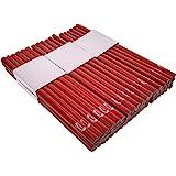 PRODIAMANT Timmermanspotlood ovaal, 250 mm lang - het perfecte potlood voor industrie en handwerk (72 stuks)