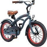 "BIKESTAR Bicicleta Infantil para niños y niñas a Partir de 4 años   Bici 16 Pulgadas con Frenos   16"" Edición Cruiser"