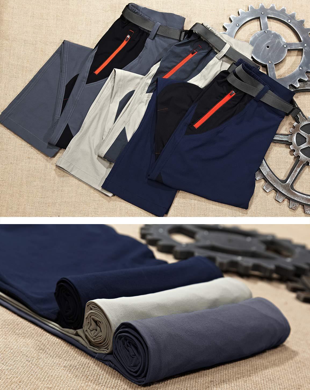81EtZjPW4DL - TACVASEN Men's Lightweight Sport Walking Trousers Outdoor Hiking Pants with Zipper Pockets
