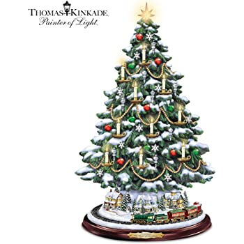 The Bradford Exchange The Heart Of Christmas Musical Tabletop Tree