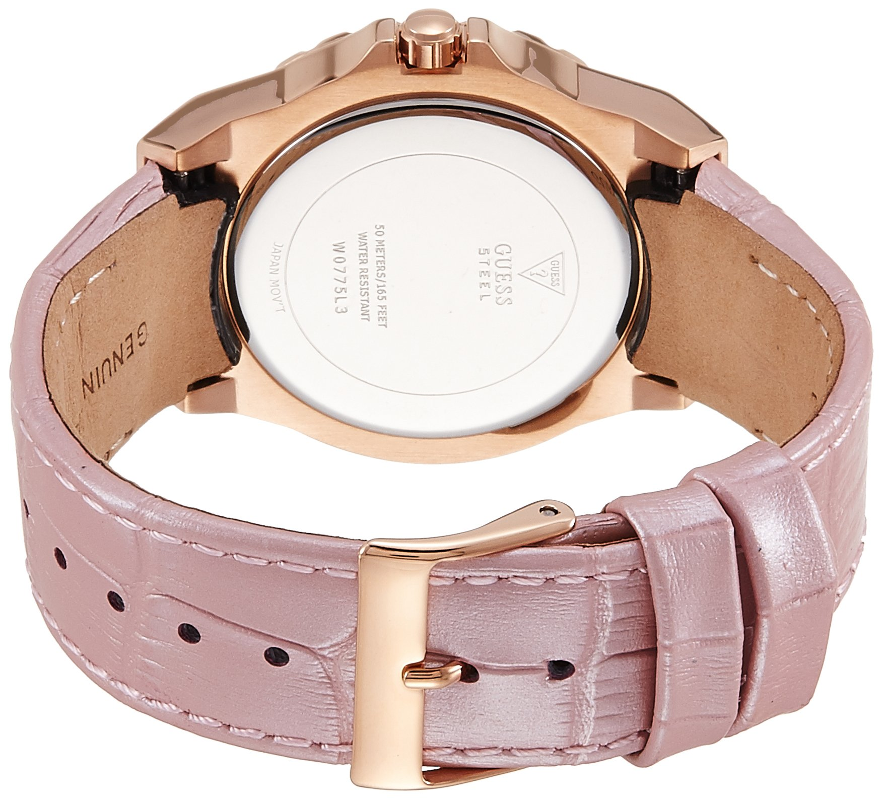 e12c3eb38529 Inicio   Marcas   Guess   Guess Reloj analogico para Mujer de Cuarzo con  Correa en Tela W0775L3