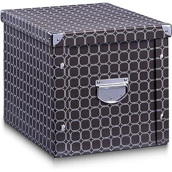 """Zeller 17892 Aufbewahrungsbox """"Dots"""" Pappe, 31 x 26 x 14"""