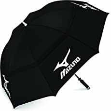 Mizuno Tour Double Canopy Golf Umbrella - Black