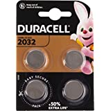 Duracell Specialty 2032 Lithium-knoopcelbatterij 3V, verpakking van 4 stuks (DL2032/CR2032)