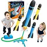 Let's Arezooo Fußpumpe/Raketen Schaumstoff Outdoor Spielzeug - Geschenke & Spielzeug für Kinder