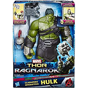 Hasbro Marvel Avengers Avengers - Hulk Gladiatore Elettronico