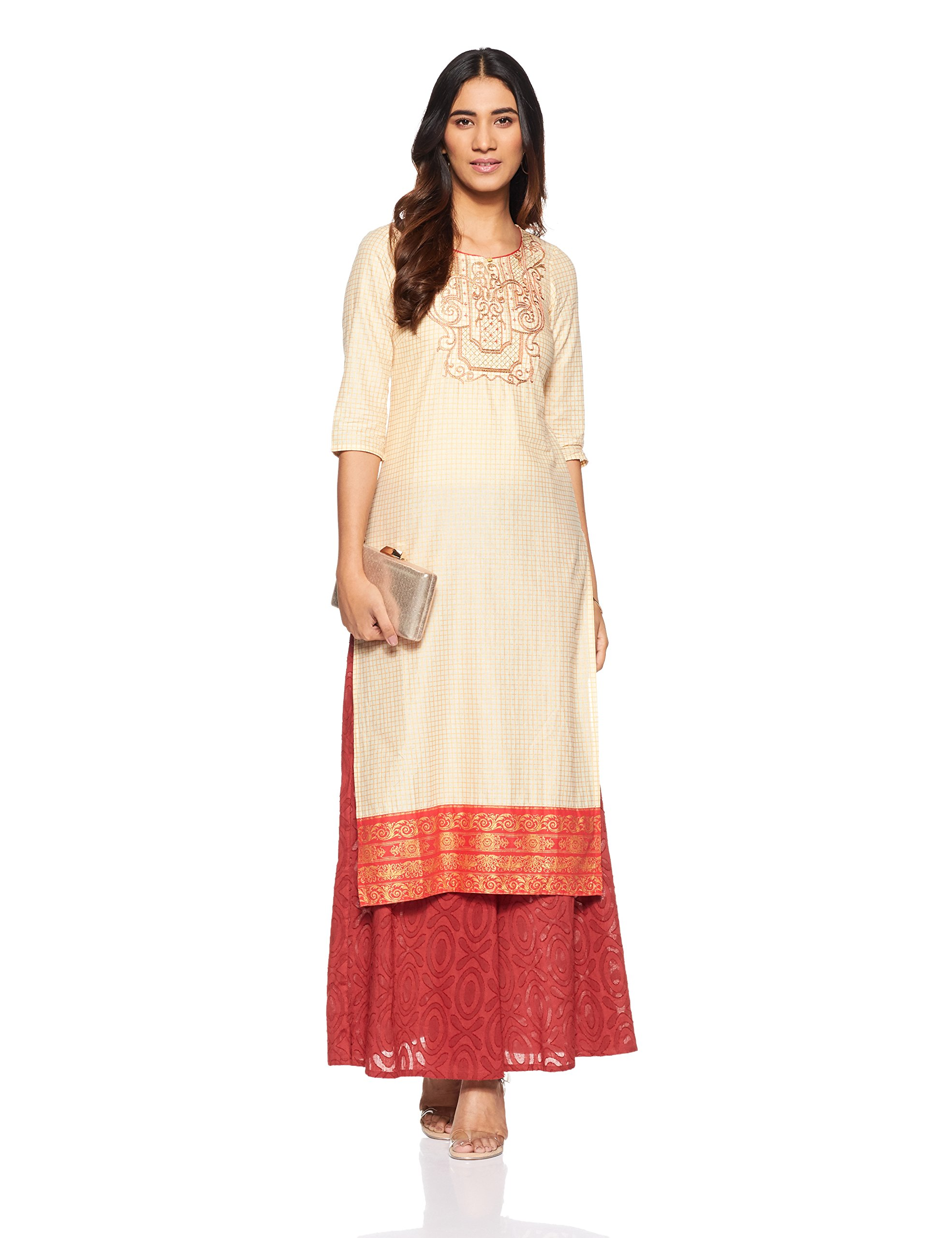 Women's Straight Kurta with Palazzo