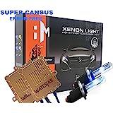 Wattstar H7 Xenon HID Kit, H7 koplamp 6000K 55W, H7 auto Xenon wit, 2 stuks, met Super Canbus