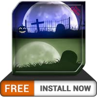 Spooky Graveyard HD - Decor your Halloween Party with Creepy Horror TV Theme