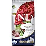 FARMINA N&D Quinoa Digestion Dry Dog Food, Grain-Free, Adult Breed, 7-kg, Lamb Mint and Fennel