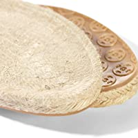Prym 1 Paio di Suole Scarpe Modello Espadrillas, con Base in Gomma e Fantasia Intrecciata, in Paglia/Iuta Naturali…