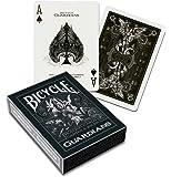 Bicycle 1020181 Guardians Spielkarten zum Sammeln, schwarz, poker