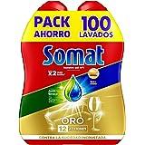 Somat Oro Gel Lavastoviglie sgrassante–100lavaggi, 1.8L