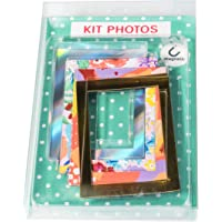 Exacompta - Réf. 12352E - 4 Cadres photos magnétiques -Multicolore -Cadres photos magnétiques à positionner -Placez vos…