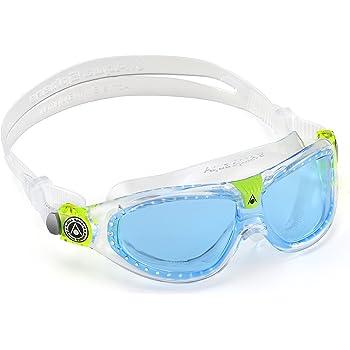 da48ffaa81e2 Aqua Sphere Moby Kids Swim Goggles w  Blue Tint- Clear Great for ...