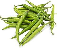 Fresh Organic Chilli, Green, 100g