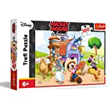 Trefl - 15337 - Puzzle - Mickey Agriculteur - 160 Pièces