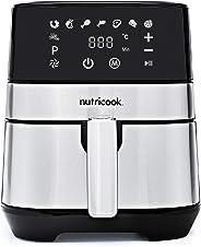 Nutricook Rapid Air Fryer by Nutribullet, 1700 Watts, Digital Control Panel Display, 8 Preset Programs with built-in Preheat