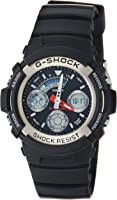 Casio Sport Watch Analog-Digital Display Quartz for Men AW-590-1A
