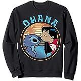 Disney Lilo & Stitch Ohana Circle Portrait Sweatshirt