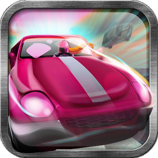 Paper Girl Car Racing Game von Free Action Games Plus-Fun Apps (Go-kart Dash)