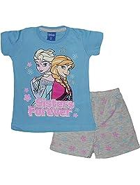 Disney Frozen Anna Elsa Short Pigiama