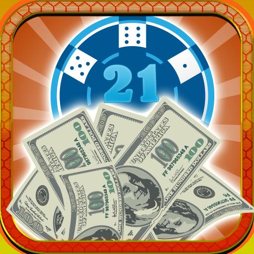 Blackjack 21 Hundred Dollar Billed (Ein-dollar-gum)