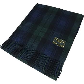 Tartan  eacute cossais 100 % laine - Couverture de qualit eacute  - Descend  jusqu  9b75b564ad4