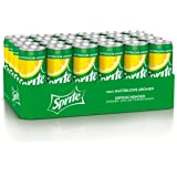 Sprite, Maximale Erfrischung mit Limetten und Zitronen Geschmack in stylischen Dosen, Limo, EINWEG Dose (24 x 330ml)
