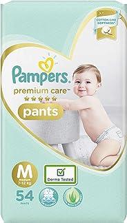 Pampers Premium Care Pants Diapers, Medium, 54 Count