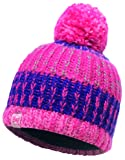 Buff Kinder Knitted und Polar Hat Mütze, Twist Blossom Red, One Size