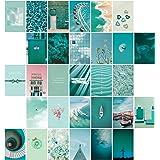 SAVITA 30 Stuks Collage Posters Kit voor Muur Esthetische, Dromerige Blauwe Esthetische Foto's voor Esthetische Muur Collage