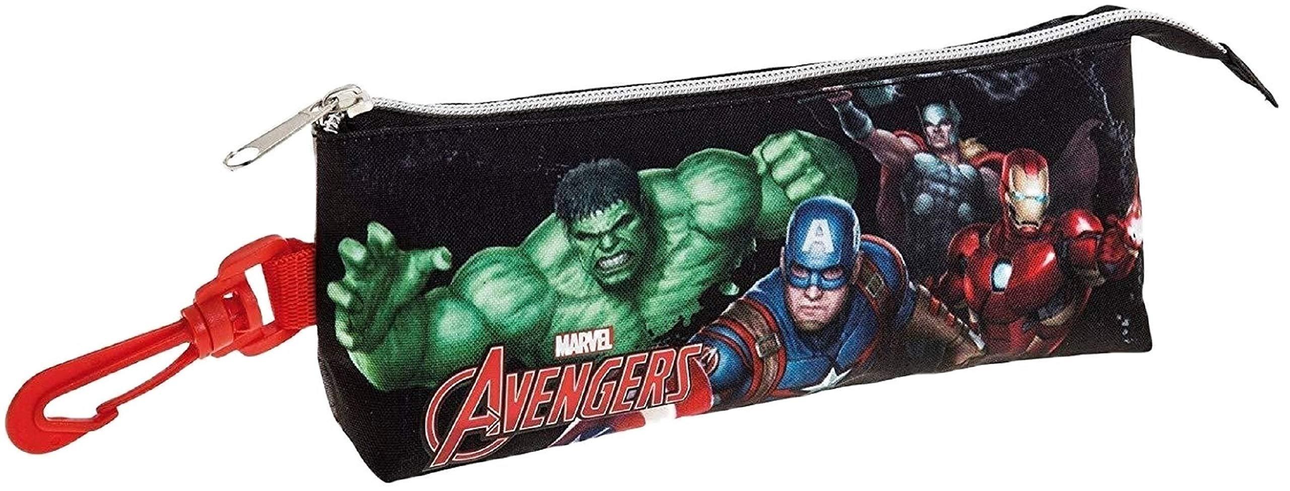 Safta Estuche grande Avengers «Gallery Edition» Oficial Triangular Ovalado 200x50x85mm
