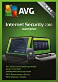 AVG Internet Security 2018 - Unbegrenzt [Online Code]