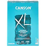 Bloc Dibujo Acuarela Canson Xl Aquarelle Grano Fino Din A3 Microperforado Espiral 29,7x42 Cm 30 Hojas 300 Gr
