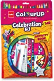 Cello ColourUp Celebration Kit - Gift Pack|Colouring Kit for Kids|Combo Pack with Colours and Activity Book | Hobby…