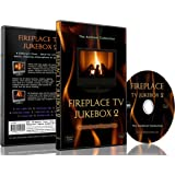Fireplace DVD - Fireplace TV Jukebox 2 -Choose out of 9 Modern Fires with Sounds of Flames and Burning Wood