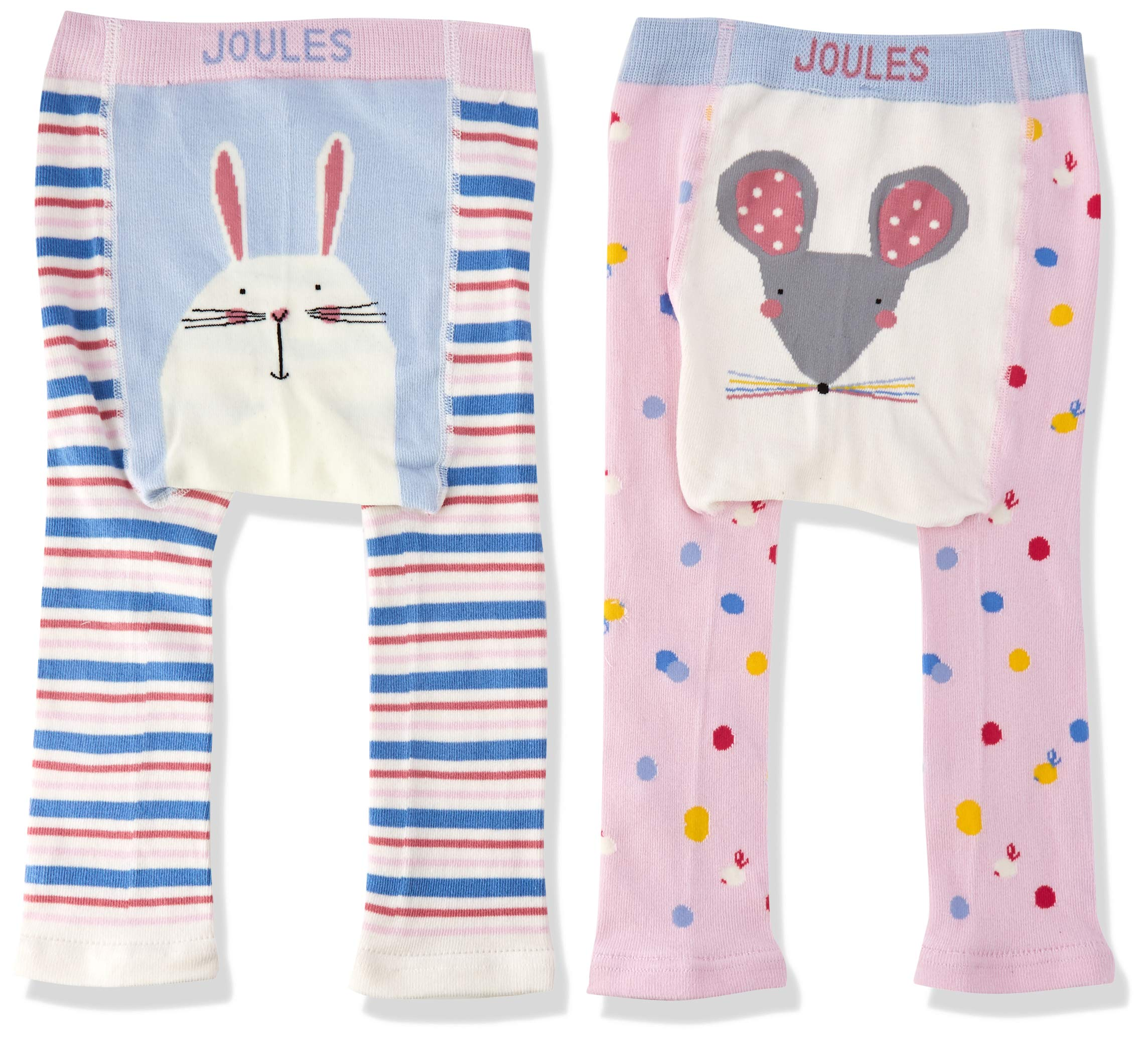 Joules Lively Leggings para Bebés, (Pack de 2) 4
