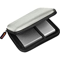 mumbi externe Festplattentasche bis 6,35 cm (2,5 Zoll) grau