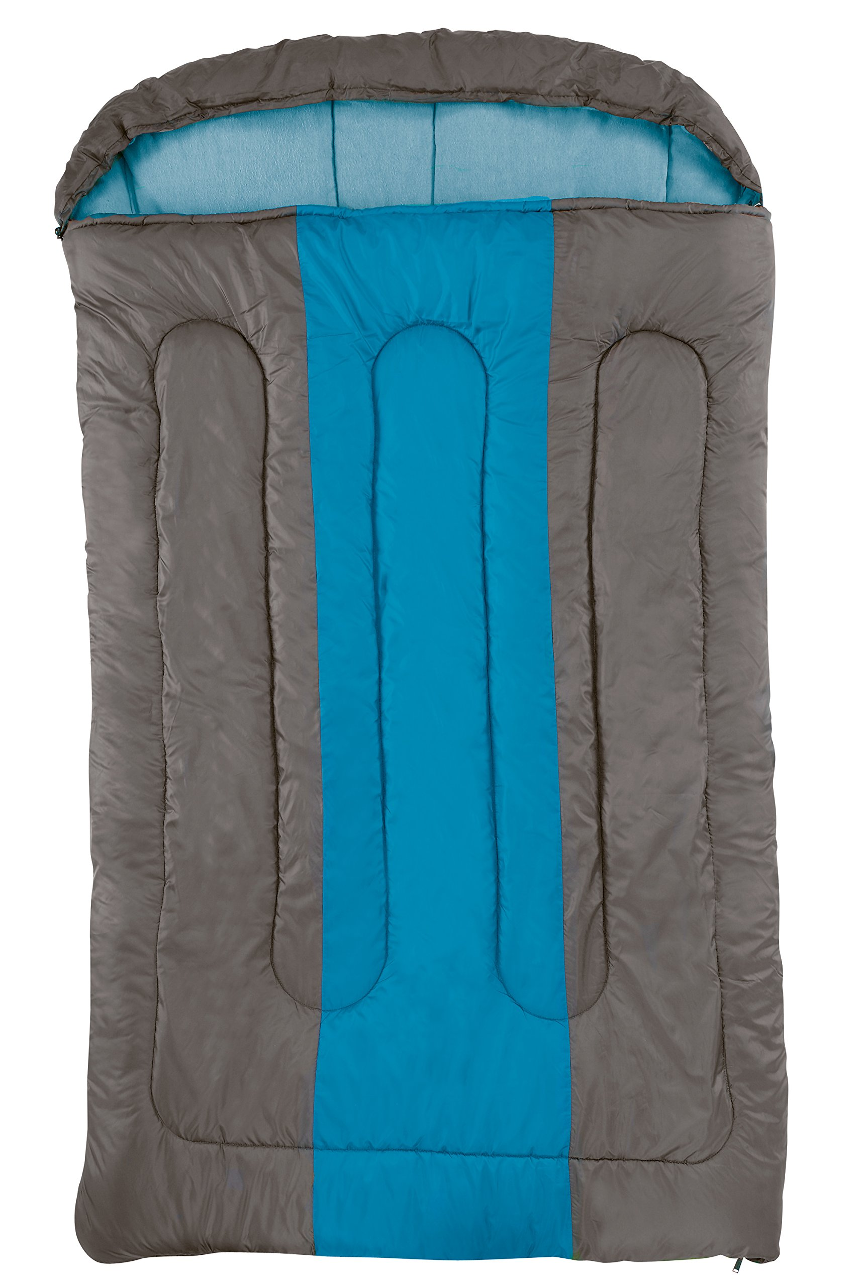 COLEMAN Sleeping Bag Hudson, Rectangular Sleeping Bag, Indoor & Outdoor, 2 Season, Warm Filling, for Adults 1