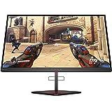 """HP - Gaming OMEN X 25 Monitor, Schermo 24.5"""" FHD TN, Risoluzione 1920 x 1080 a 240 Hz, NVIDIA G-SYNC, Tempo Risposta 1 ms Ove"""