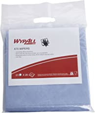 Wypall High Absorbent Reusable Wiping Cloth, 10 x 10 Inches, Pack of 25, White, 60015 by Kimberly-Clark