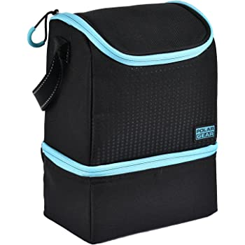 e40ac558897 Polar Gear Active Two Compartment Cooler Optic Dot Turquoise ...