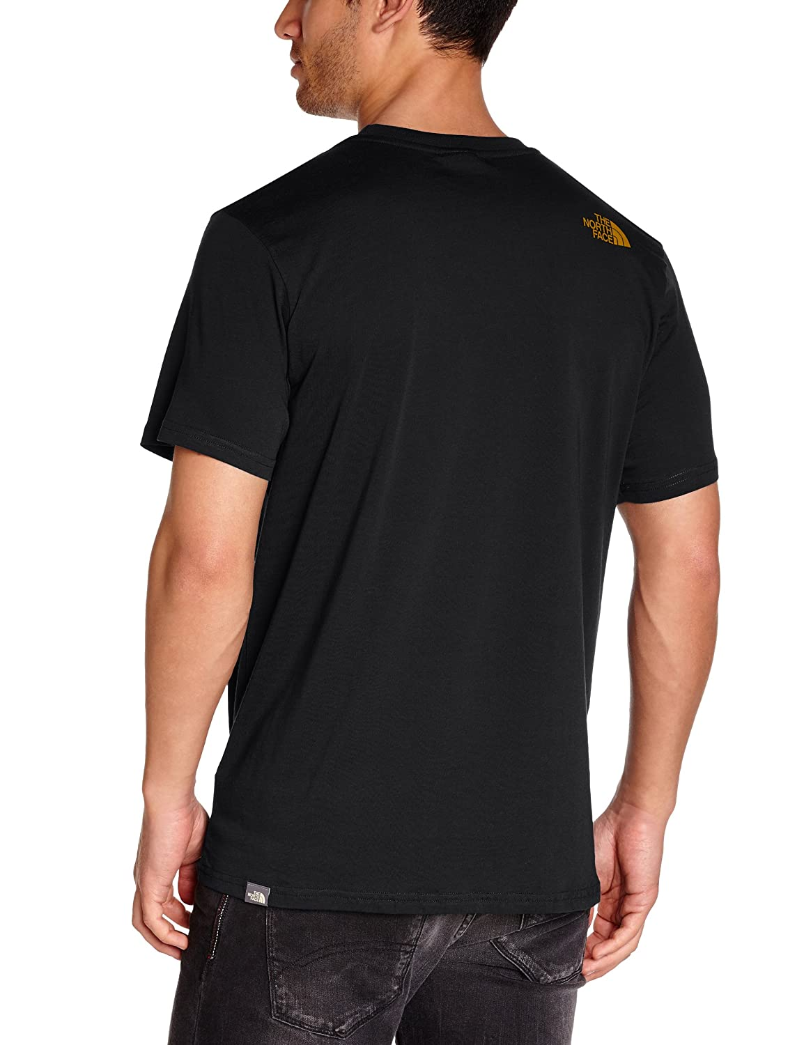Black t shirt collar - The North Face Men S Short Sleeve Simple Dome T Shirt Amazon Co Uk Sports Outdoors