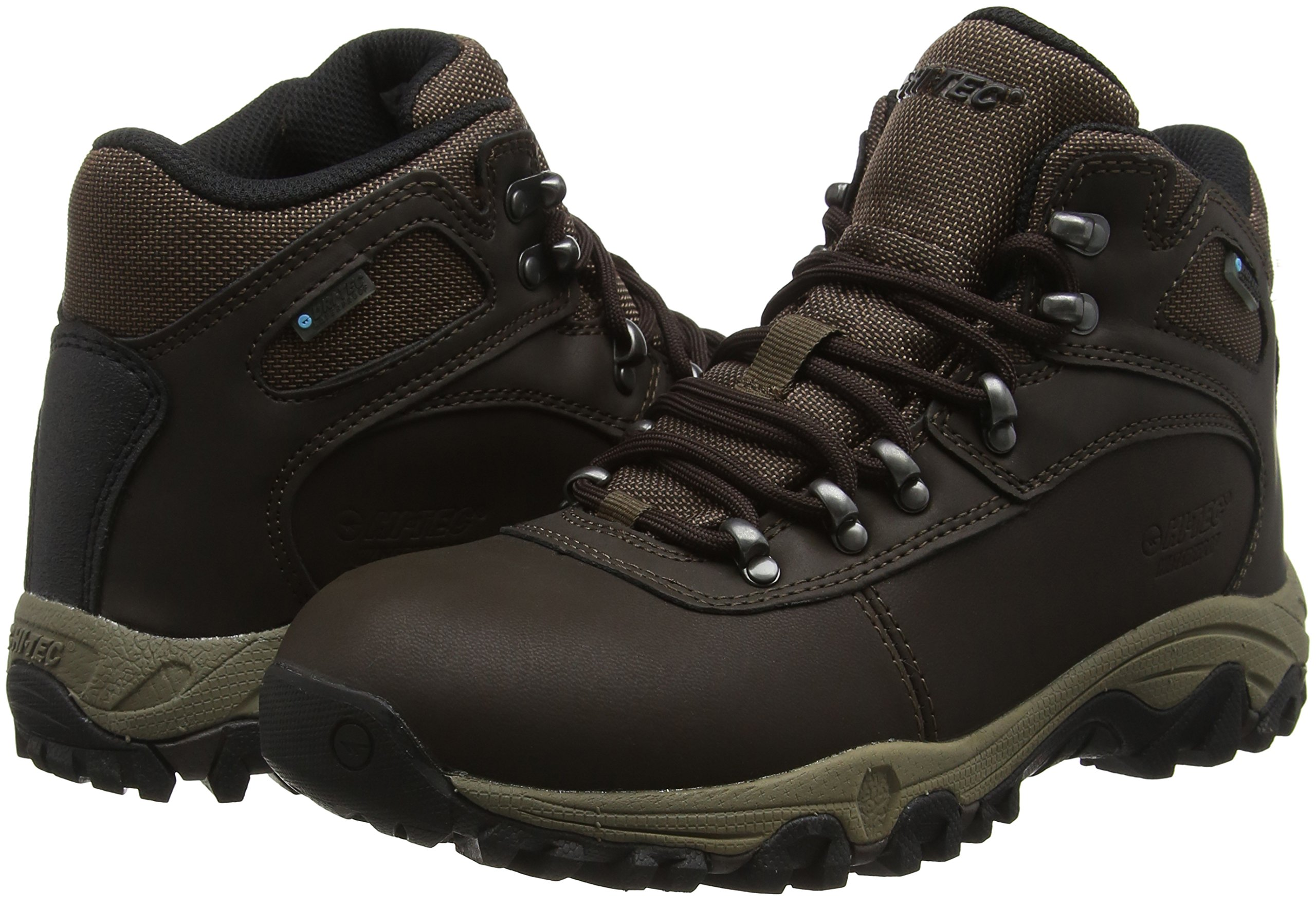 Hi-Tec Women's Cascadia Waterproof High Rise Hiking Boots 5
